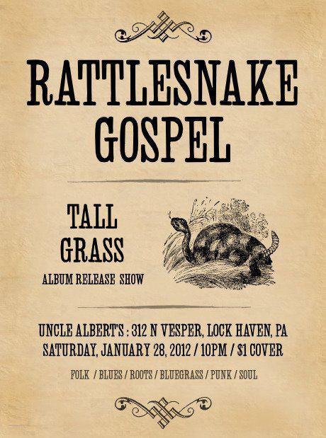 Tall Grass release show